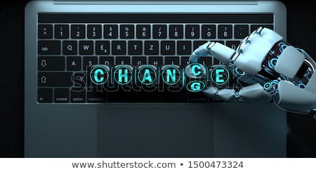 Cuaderno cambio texto 3d Foto stock © limbi007