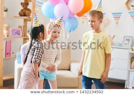 グループ かわいい 子供 歳の誕生日 ストックフォト © pressmaster