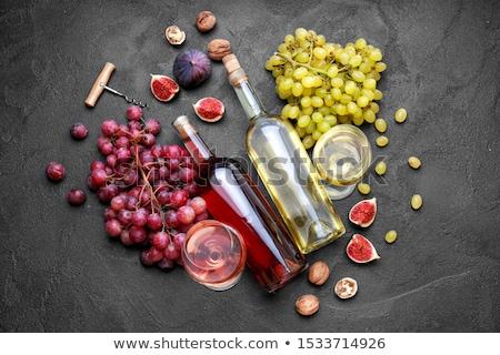 異なる ブドウ 葉 フルーツ スペース ストックフォト © furmanphoto