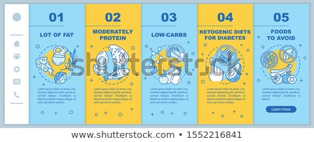 Stockfoto: Suikerziekte · webpagina · sjabloon · suiker · niveau