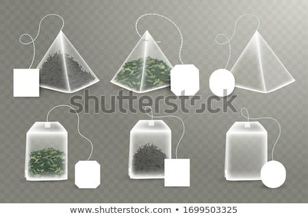 teabag set Stock photo © ShustrikS