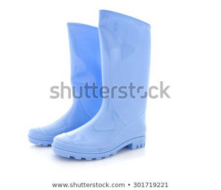 Blue wellingtons Stock photo © photography33