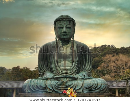 buddha · statua · tempio · storico · parco · costruzione - foto d'archivio © prajit48