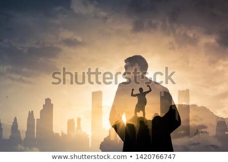 negócio · motivação · estudante · apoiar · visão · trabalho · em · equipe - foto stock © designers