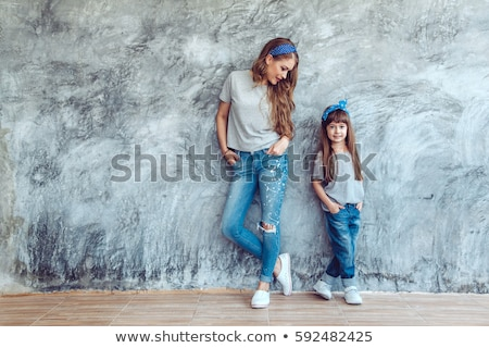 fashionable family posing stock photo © neonshot