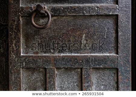 Fém lánc sötét közelkép szép absztrakt Stock fotó © cosma