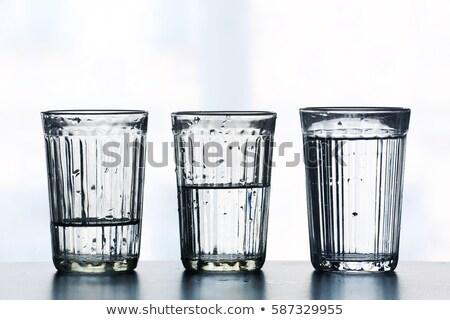 Tre isolato bianco acqua sfondo Foto d'archivio © smuki