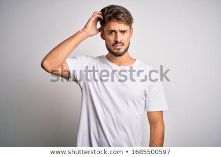Confused man Stock photo © sahua