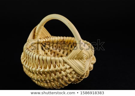 Wooden baskets Stock photo © boggy