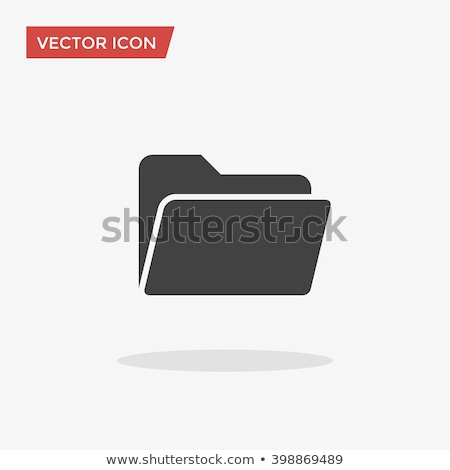 folder icon in trendy flat style isolated on white background for your web site design app logo stock photo © kyryloff