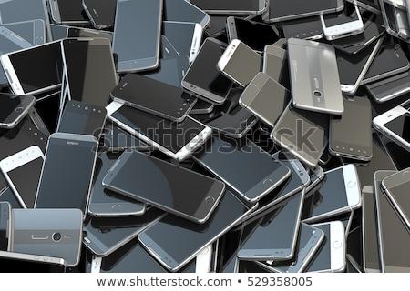 pile gadgets illustration stock photo © lenm