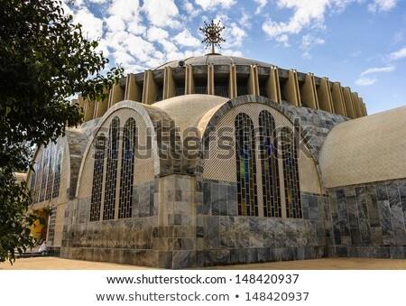 Kilise bayan Etiyopya ünlü kültürel miras Stok fotoğraf © artush