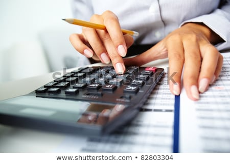 Calculator Keyboard Detail Stock photo © Pressmaster
