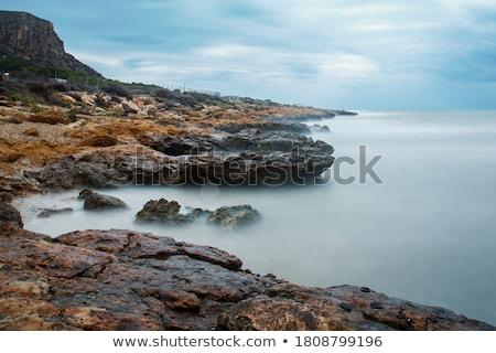 rocky coastline landscape Stock photo © smithore
