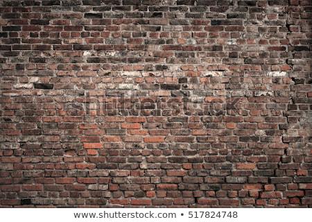 red old brick stones stock photo © meinzahn