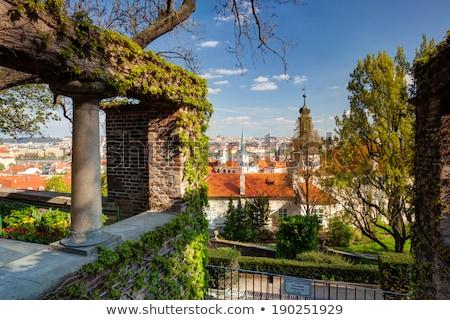 Ver jardim paraíso primavera Praga hdr Foto stock © CaptureLight