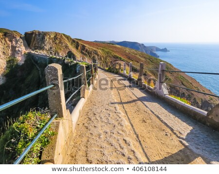 tengerparti · jelenet · néz · ki · angol · csatorna - stock fotó © chris2766