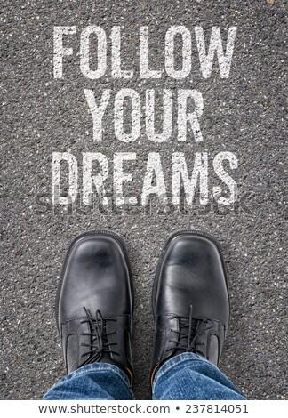 rüya · hayal · hayat · başarı · motivasyon - stok fotoğraf © zerbor