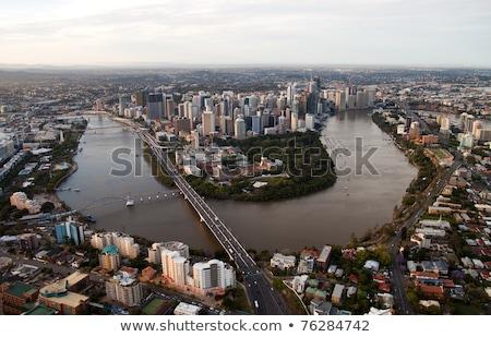 Aerial views Captain Cook Bridge Australia Stock photo © lovleah