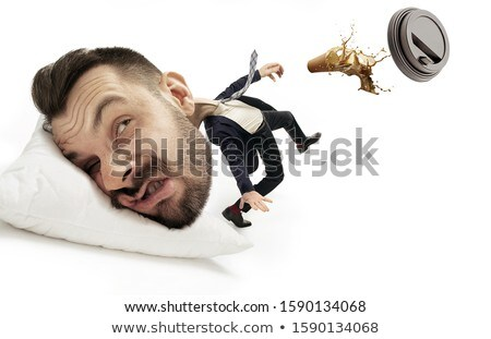 Big head on small body with management concept Stock photo © ra2studio