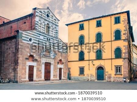 church of San Giusto, Lucca, Italy Stock photo © borisb17