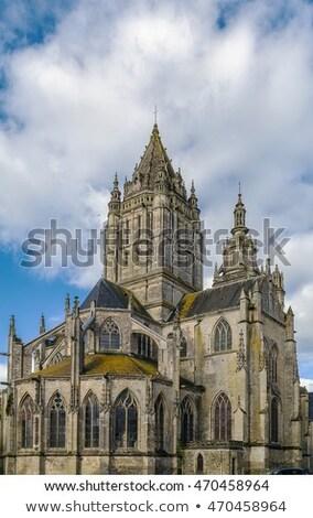 kerk · Frankrijk · katholiek · reizen · stedelijke · steen - stockfoto © borisb17