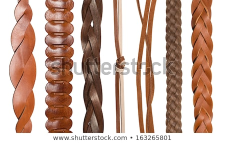 Leather Belts In Various Colors Photo stock © caimacanul
