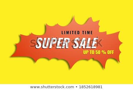 окончательный продажи 50 процент время Сток-фото © robuart