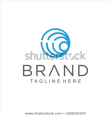 Linear spiral, swirl circle icon, Stock Vector illustration isolated on white background. Stock photo © kyryloff