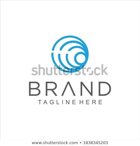 Liniowy spirali obracać kółko ikona czas Zdjęcia stock © kyryloff