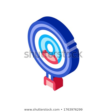 Inspection of Voter isometric icon vector illustration Stock photo © pikepicture