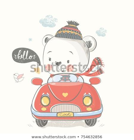 Teddy bear transport Stock photo © Stocksnapper