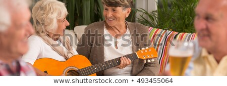 Convivial meal with music Stock photo © photography33