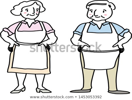 Confident chef standing with arms akimbo Stock photo © wavebreak_media