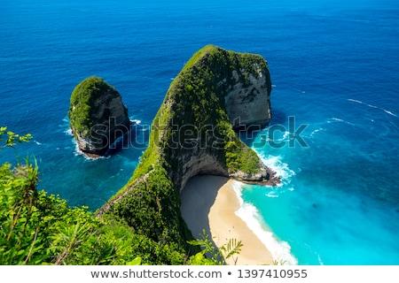 Bali costa surpreendente cenário custo água Foto stock © Ronen