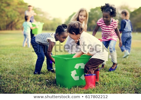 learning to recycle stock photo © luminastock