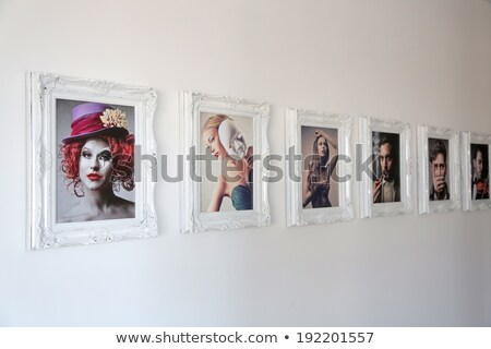 picture frame with a violin stock photo © nejron
