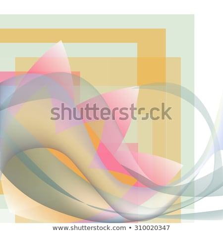 esquina · patrón · olas · flor · geométrico · colorido - foto stock © cosveta