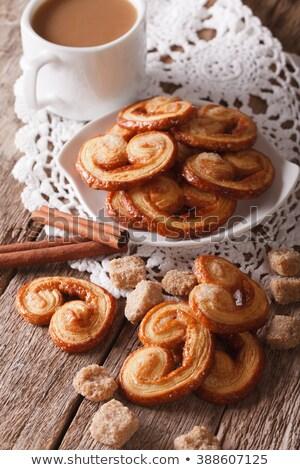 cookies · witte · bos · vers · geïsoleerd · achtergrond - stockfoto © luissantos84