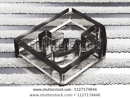 letöltés · háló · interfész · ikon · fehér · átlátszó - stock fotó © davidarts