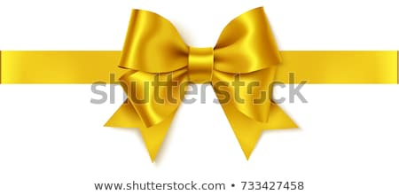 luxury background with golden bow stock photo © illustrart