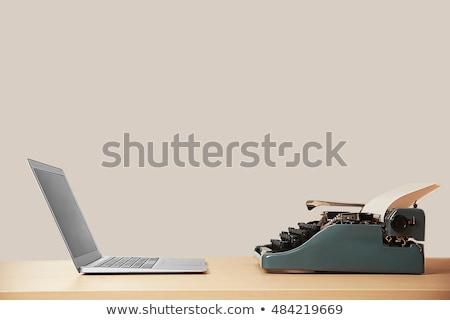 Time To Write Typewriter Concept Stock photo © ivelin