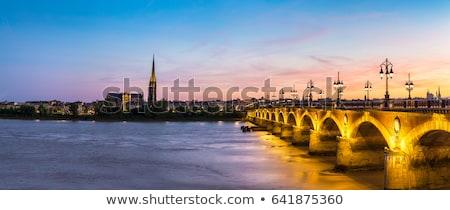 ボルドー フランス 石 橋 英語 旅行 ストックフォト © borisb17