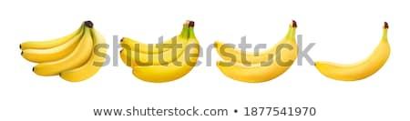twee · vers · bananen - stockfoto © pixelman