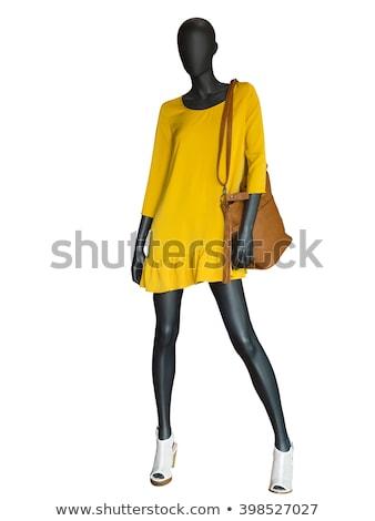 vrouw · dressing · etalagepop · store · business · werk - stockfoto © paha_l