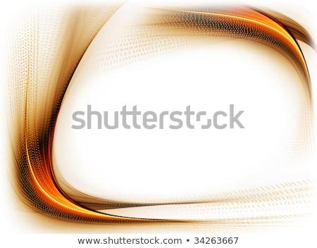 波状の 国境 コピースペース インターネット フレーム ストックフォト © Artida