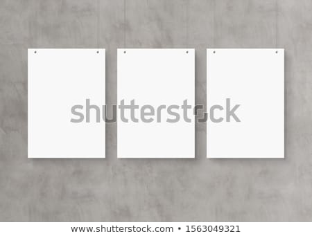 Concrete Picture Stock photo © sdecoret