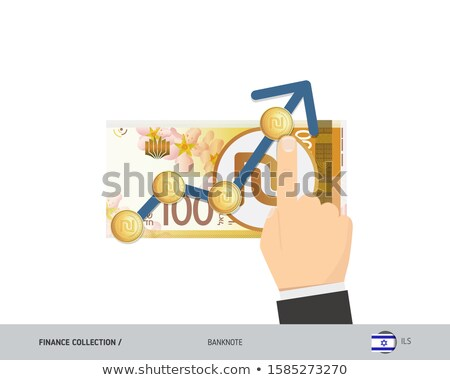 Hundred Shekel Notes Stock photo © eldadcarin