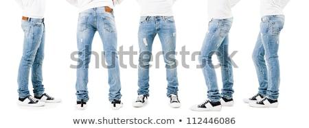 pernas · meninas · grande · verde · criança - foto stock © zzve