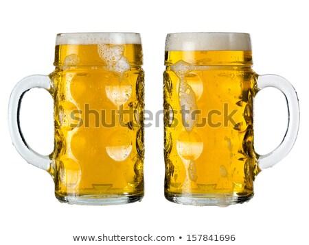 Oktoberfest beer stein or Mass Stock photo © sumners